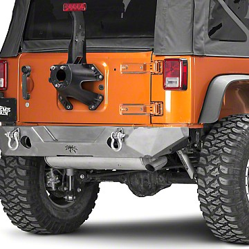 Image of a Jeep Wrangler Rear Bar JW0330 PS Style Steel Rear Bull Bar