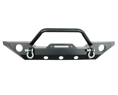 Picture of a JW0265 Style Steel Front Winch Bull Bar