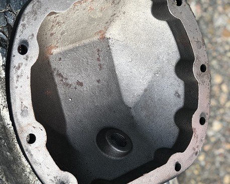 Picture of a Poison Spyder Style Dana 30 Differential Cover / Diff Cover