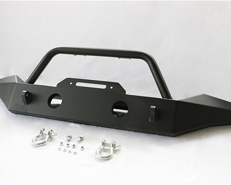 Picture of a JW0292 Style Steel Front Winch Bull Bar