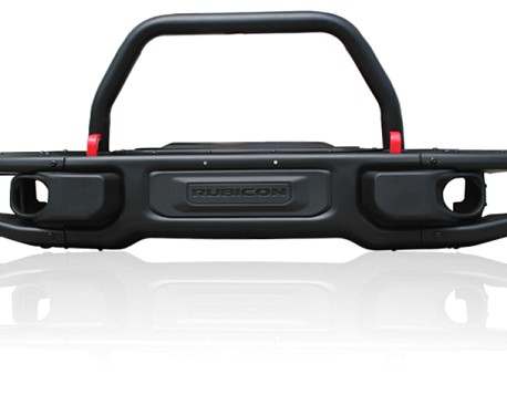 Picture of a 10th Anniversary Style Front Winch Bull Bar with U bar