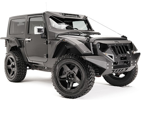 Picture of a Fab Fours Style Steel Front&Rear Fender Flares Guard