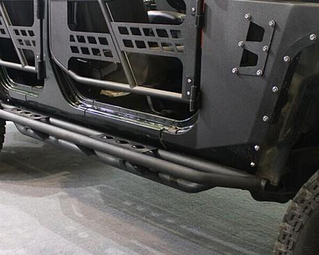 Picture of a 4 Door 3-Tube Rock Sliders (Set)