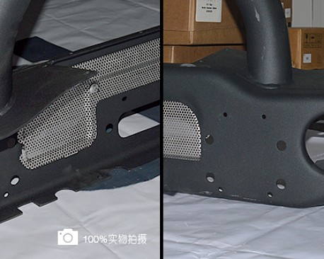 Picture of a AEV Style Front Bumper with Winch Cradle, Bullbar, Tow Rings and Fog Light Inserts