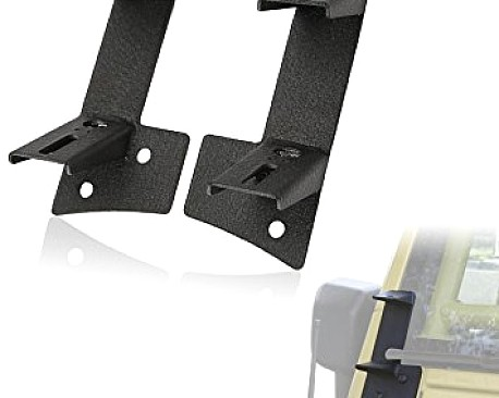 Picture of a Windshield A-Pillar Mount Brackets for Dual LED lights