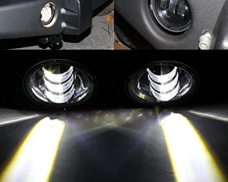 Picture of a Dragon style Fog Lamp On Front Bull bar
