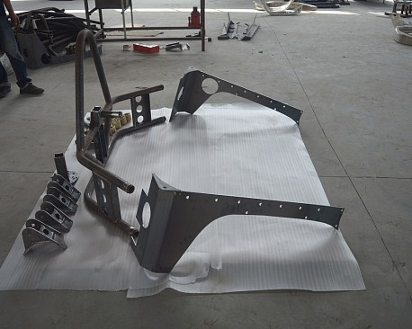 Picture of a  EVO Style Rear Spare Wheel Carrier