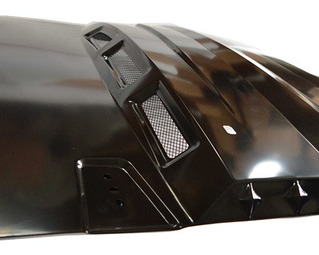 Picture of a Avenger Style Steel Bonnet Front Hood Heat Reduction