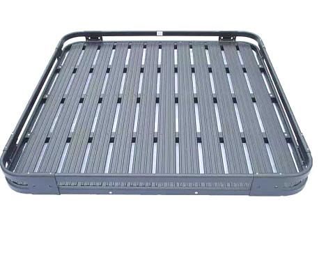 Picture of a 4 Door Aluminium Roof Rack Basket Gutter mount A-alloy