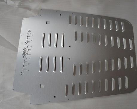 Picture of a PS Style Bonnet Heat Reduction Hood Vent Silver Color