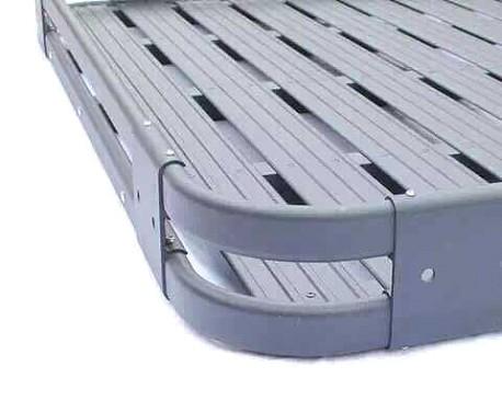 Picture of a 2 Door Aluminium Roof Rack Basket Gutter Mount A-Alloy