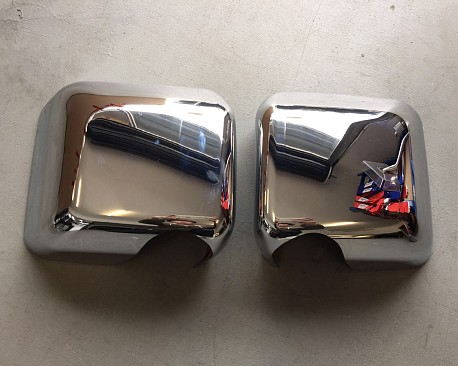 Picture of a  Pair of Chrome Color Mirror Cover