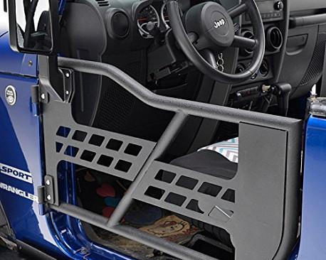 Picture of a 2 door Tubular Doors with Mirror