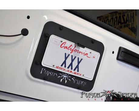 Picture of a PS Style Rear License Plate Holder Frame