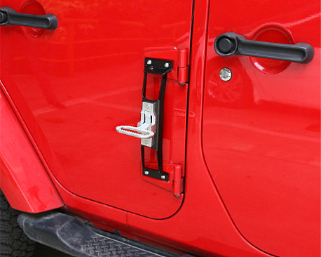 Picture of a Door Step Black/Chrome