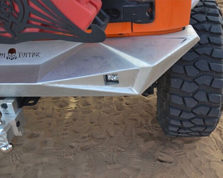 Picture of a Aggressive Rear Bumper Material: Aluminium