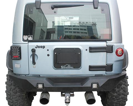 Picture of a SF Style Rear License Plate Holder Frame