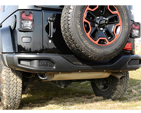Picture of a 10th Anniversary Style rear bumper bar