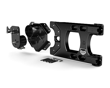 Picture of a TERAFLEX Alpha HD Style Hinged Rear Spare Wheel Carrier