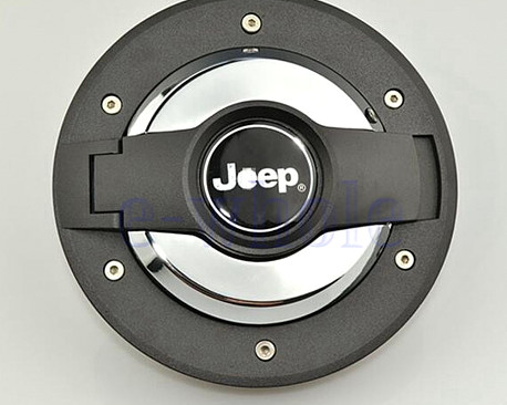 Picture of a New Style Fuel Cap Door Cover With Logo