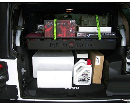 Picture of a 2 Door TF Style Rear cargo boot storage basket