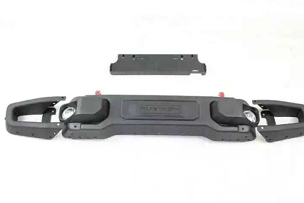 Picture of a 10th Anniversary Style Front Winch Bull Bar 026