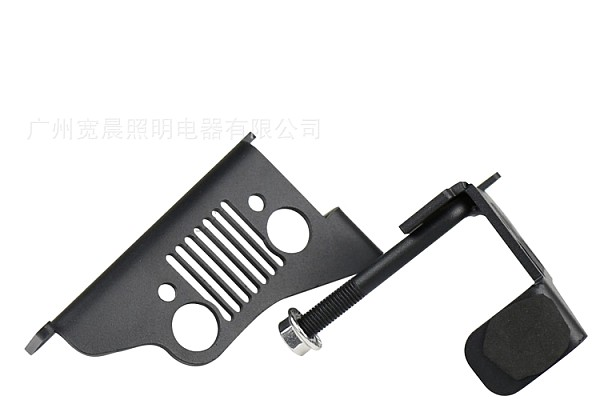 Picture of a 2 Pieces Steel Foot Rest Pegs Pedal Jeep Style