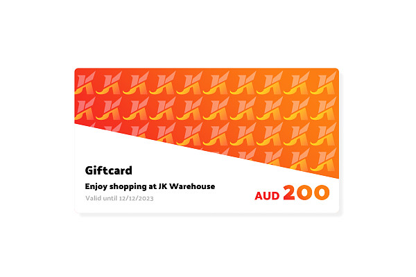 Picture of a 200 AUD Gift Card