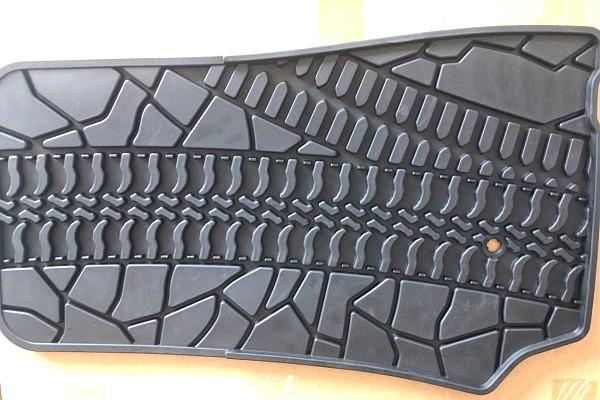 Picture of a Jeep Wrangler JK Floor Mats  for 4-Door Wrangler 07-15