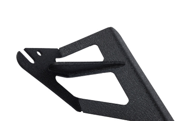 Picture of a Jeep  Wrangler JK 50 inch Mounting Brackets for LED lights bar