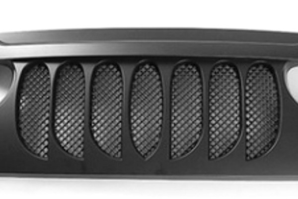 Picture of a ABS Demon Grid Style Front Grill Grille matte black