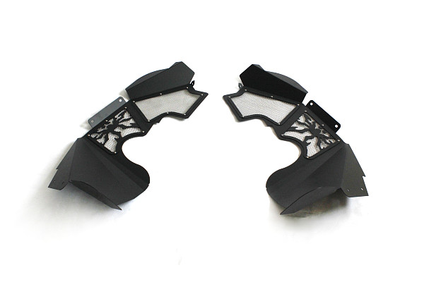 Picture of a PS Style Vented Front Inner  Front  Fender Flares (no spider logo)