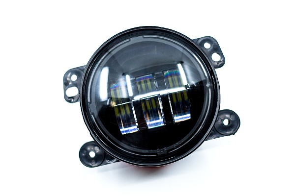 """Picture of a  4"""" LED Fog Lights for Bumpers and Bullbars (Pair)"""