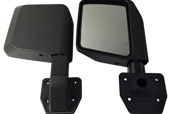 Picture of a Jeep Wrangler 2019+ JL 4 door Tubular Doors with Mirrors