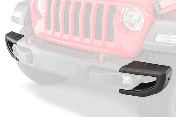 Picture of a Jeep Wrangler JL 0023 Mopar Rubicon Style Steel Front Bumper
