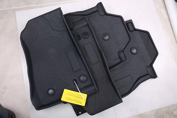 Picture of a Jeep Wrangler 2019~ JL 2 Door Floor Mat