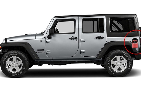 Picture of a Jeep Wrangler Fuel Economy Tuning Device