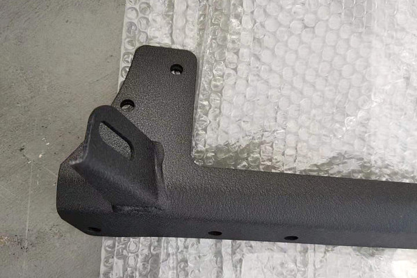 Picture of a Jeep  Wrangler JK 50 inch Mounting Double Brackets for LED lights bar