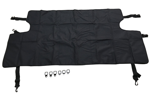 Picture of a Jeep Wrangler JK Cover Curtains  J290