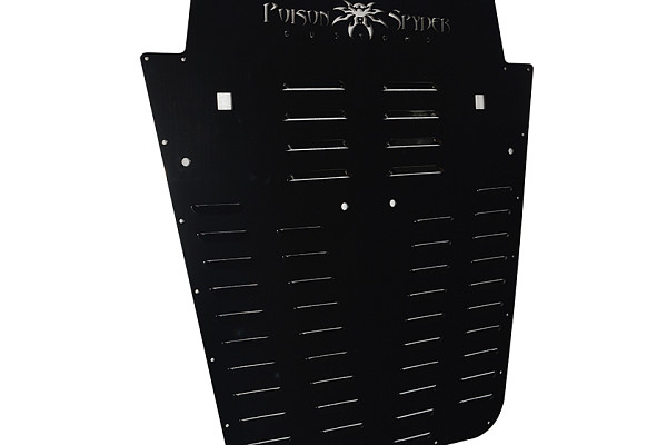 Picture of a Jeep Wrangler JK  PS style Hood Louver  Black 0085