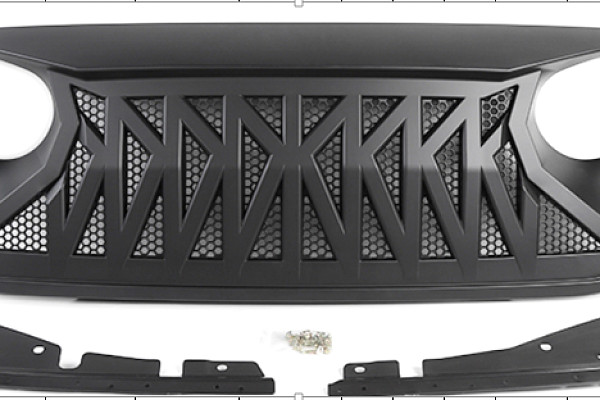 Picture of a Jeep Wrangler JL  Angry Grille  0006