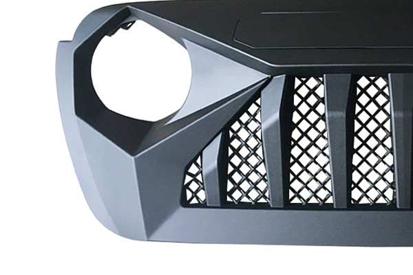 Picture of a Jeep Wrangler JL  Angry Grille JL1096