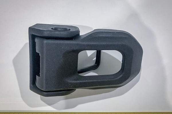 Picture of a Jeep Wrangler JL Style Bonnet Latch for Jeep Wrangler JK