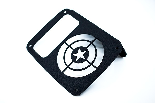 Picture of a Captain America Tail Light Cover Light Guard (Pair)