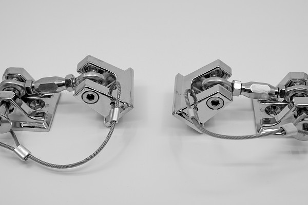 Picture of a Retro Style Bonnet lock Catch Kit (Chrome)
