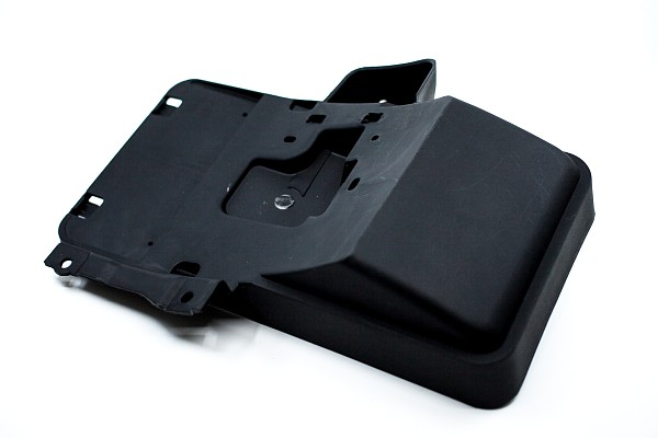 Picture of a Side Mount Rear License Plate Holder Frame With Light