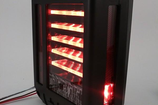 Picture of a  Pair LED Tail Lights J.W. Speaker 279 J Style Rear Turning Break Light 0119