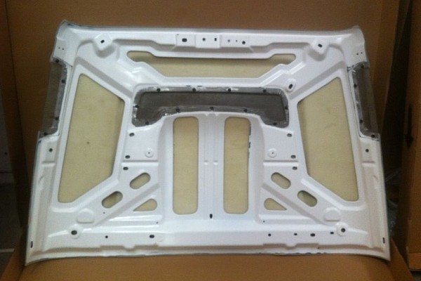 Picture of a AEV Style FRP Bonnet Front Hood Body Kit