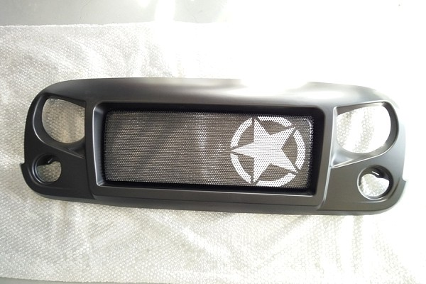 Picture of a Spartan Star Style Angry Grille Matte black