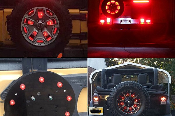 Picture of a  Spare Tire Brake Light